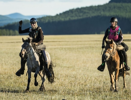 Women of Age Racing in the Mongolian Derby