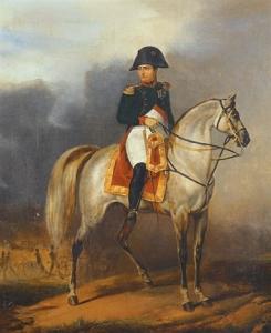 Napoleon and Marengo painting by Francois Dubois