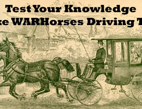 Take WARHorses' DRIVING QUIZ!