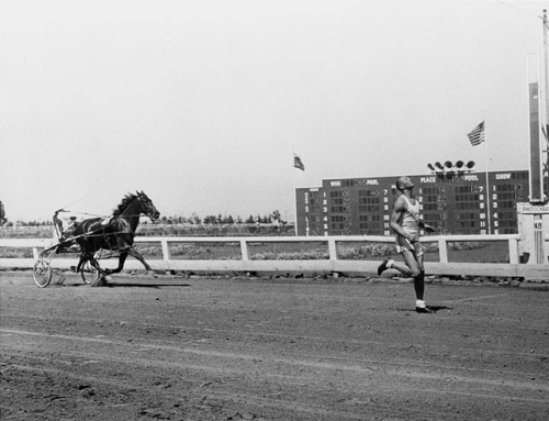One of America's Greatest Olympians Ran Against Horses to Earn a Living