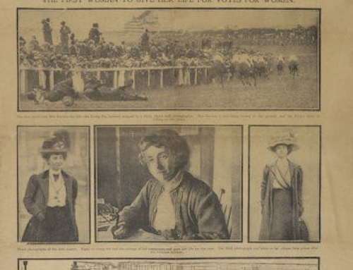 British Suffragette Trampled During 1913 Epsom Derby