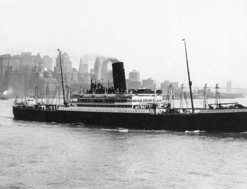 The First Horse Show Held on an Ocean Liner