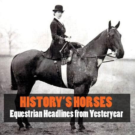 President's Equestrian Portrait Headlines the News