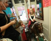 vintage coin operated horses