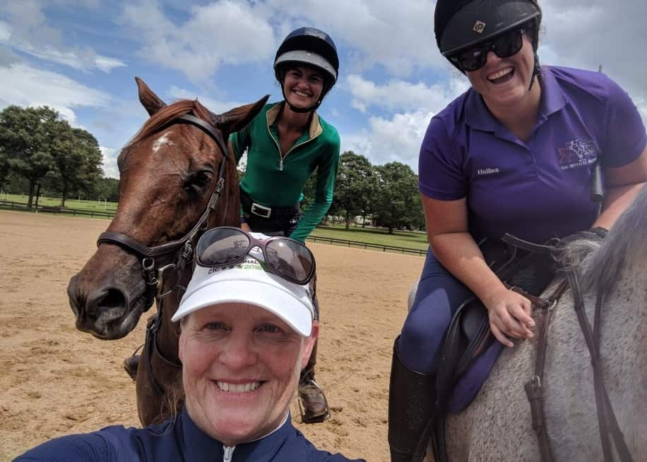 Happy Campers Improve Their Eventing Skills