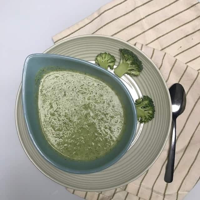 Broccoli Silk Soup to Chase Away the Cold Weather Chills