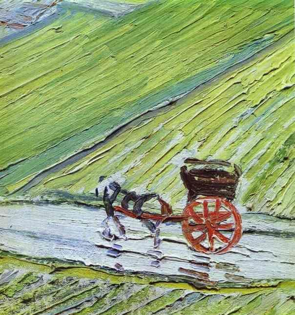 Van Gogh's Post-Impressionistic and Most-Impressionistic Equines